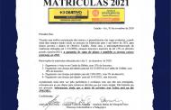 Matrículas 2021